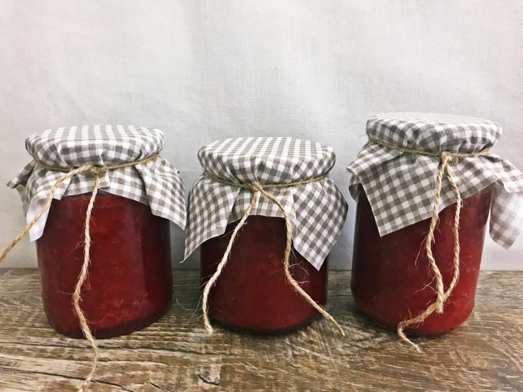 Erdbeer-Rhabarber-Marmelade (13)