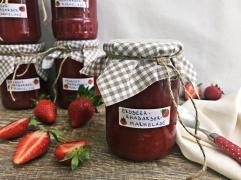 Erdbeer-Rhabarber-Marmelade (2)