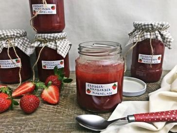 Erdbeer-Rhabarber-Marmelade (7)